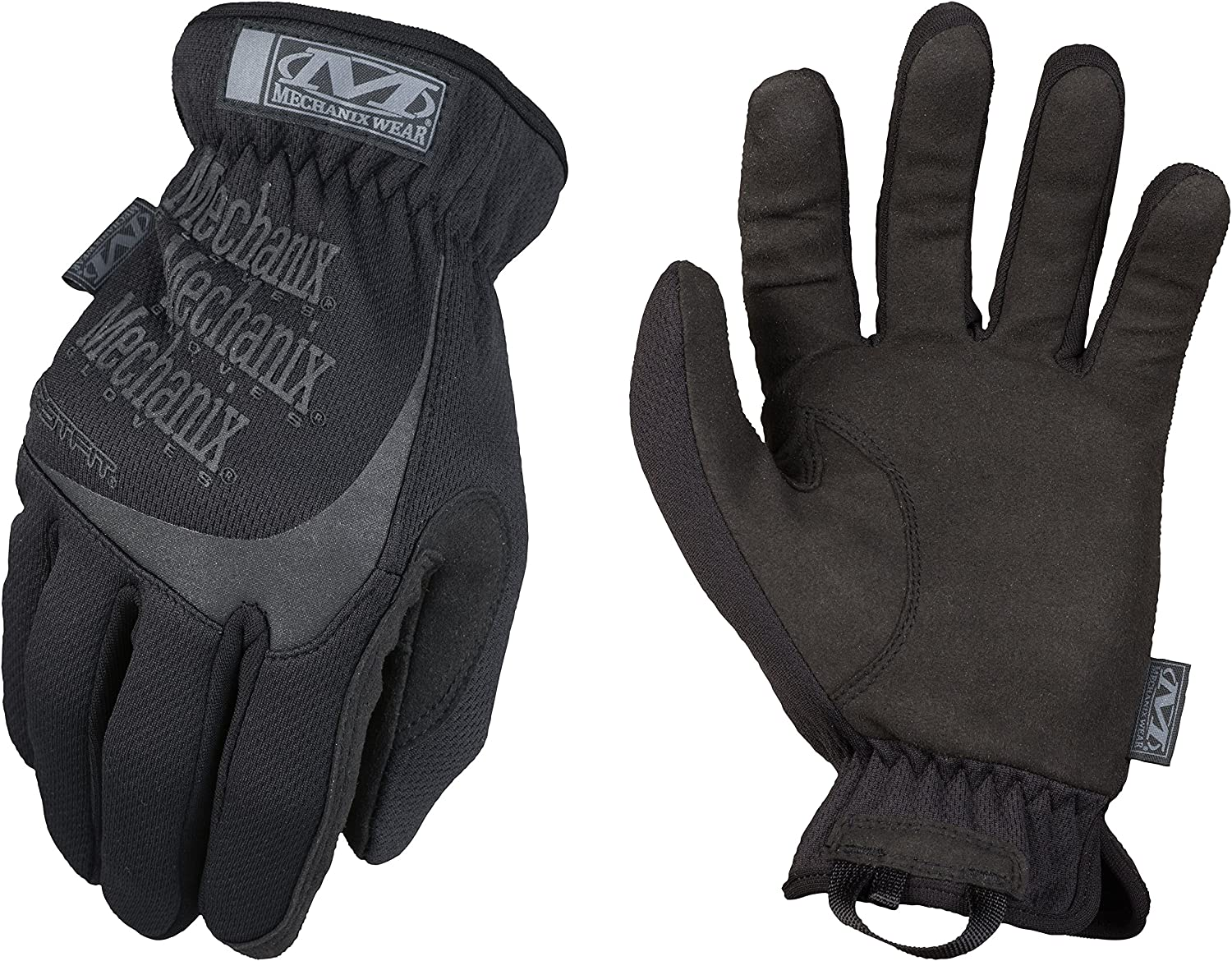 FastFit Covert Tactical Gloves Mechanix Wear X-Large, Black