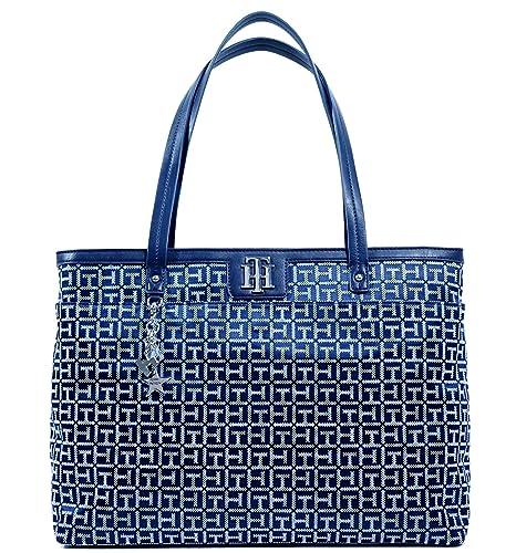 Amazon.com: Tommy Hilfiger grande bolsa bolso bolso cartera ...