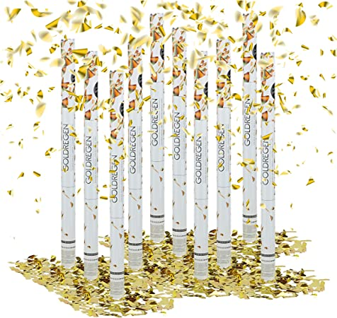 50-80cm Silver Paper Confetti Shooter Compressed Cannon Party Wedding Popper