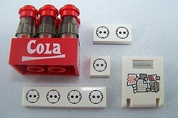 Kühlschrank Zubehör Leiste : Hauke trade cola kiste mit cola flaschen kühlschrank tür