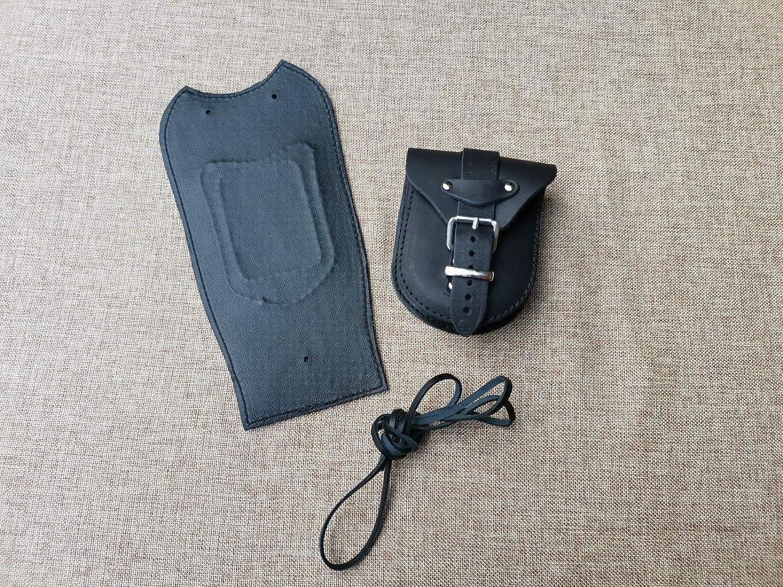 ORLETANOS Tankpad kompatibel mit Harley Davidson Softail Heritage oder Fat Bob f/ür spitzes Dashboard schwarz Tasche Schwingentasche HD