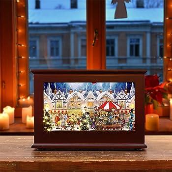Mr. Christmas 23831 Heirloom Christmas Music Box Holiday Decoration
