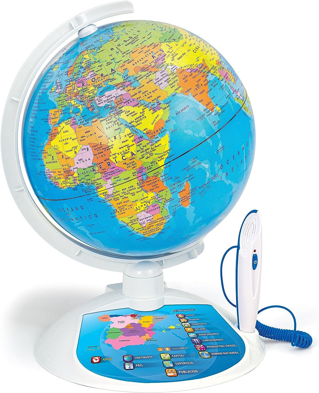 Ciencia y Juego - Explora el Mundo con el Globo Interactivo (Clementoni 65645): Amazon.es: Juguetes y juegos