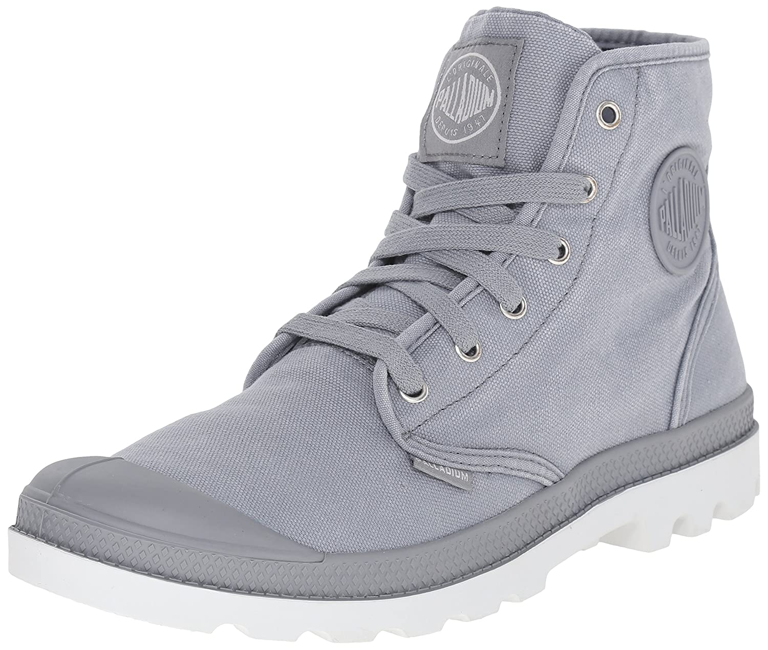 Palladium Women's Pampa Hi Canvas Boot B0113ON486 13 D(M) US|Monument