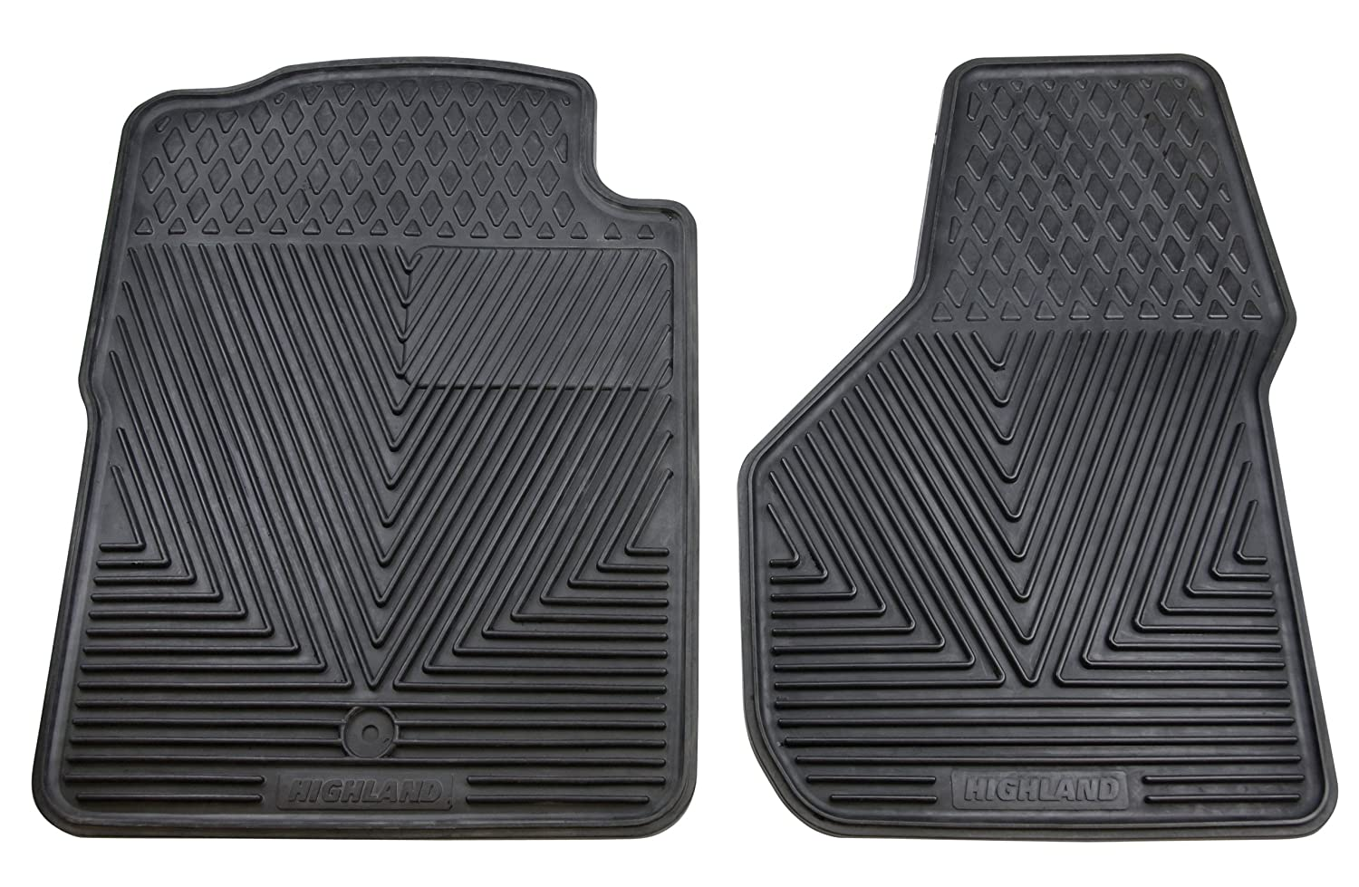 Highland 4504400 All-Weather Gray Front Seat Floor Mat Highland Group