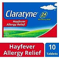 Claratyne Hayfever Allergy Relief Antihistamine Tablets 10 pack, 10 Grams