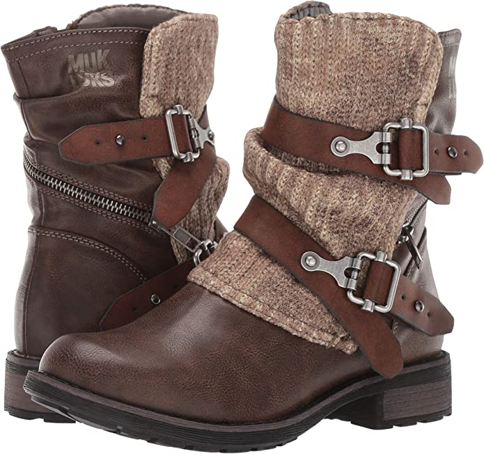 MUK LUKS Women's Logan Boots Fashion