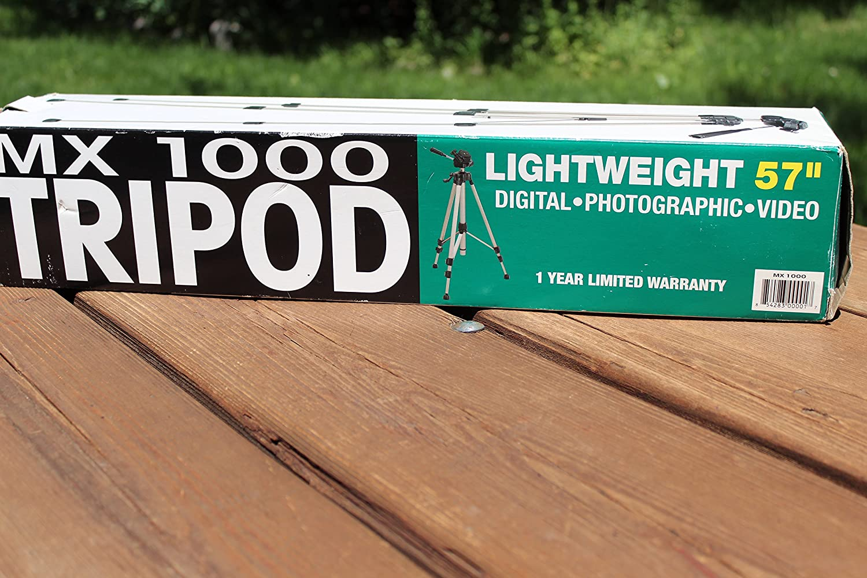 MX 1000 Lightweight 57 inch Digital//Photographyic//Video Tripod