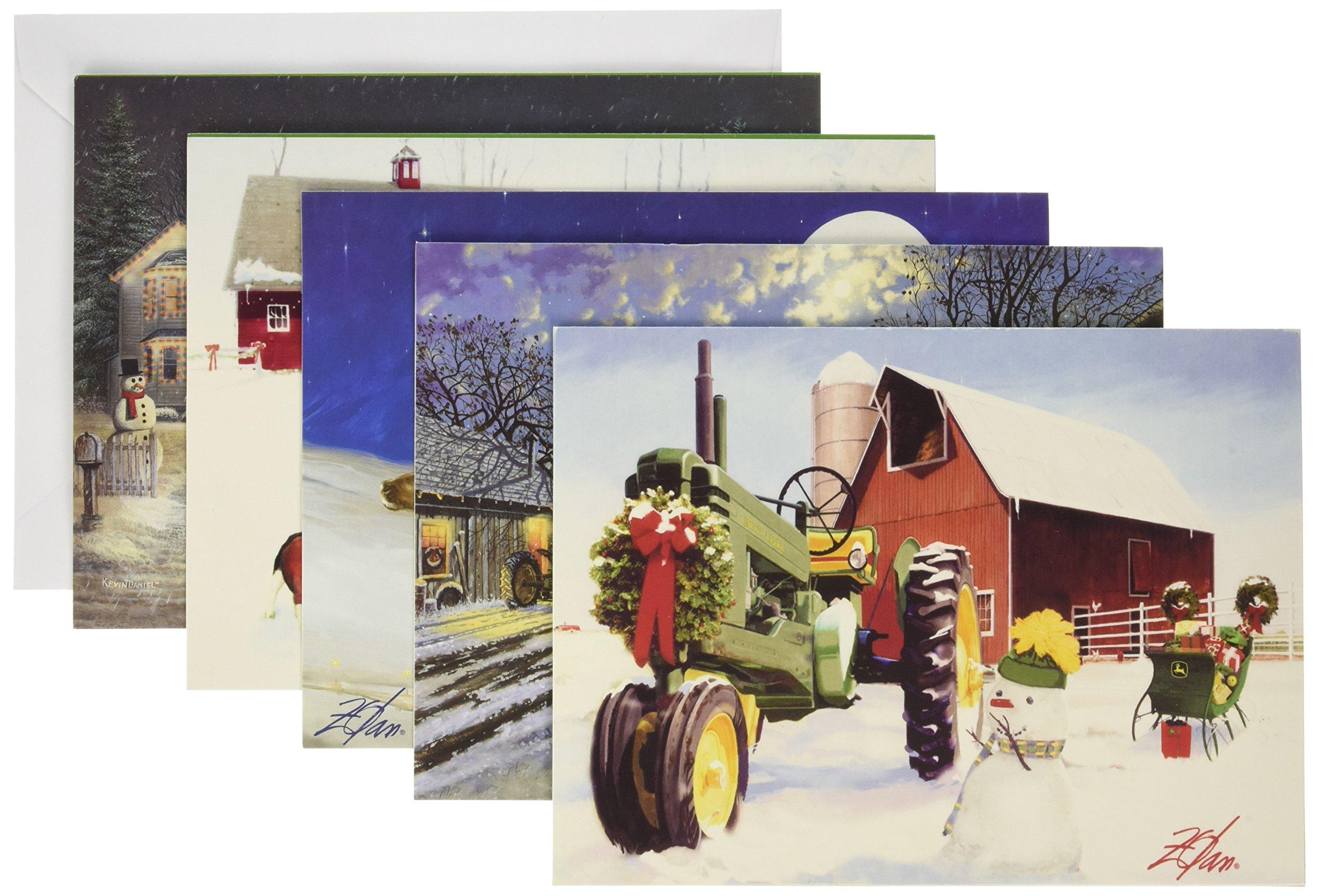 MasterPieces John Deere Christmas Card Pack