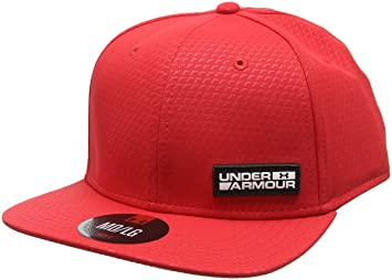red under armour hat