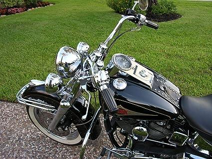 """1pc Vintage 1/"""" Handlebar Hand Grips Coke Bottle for Harley Bobber Chopper Custom"""