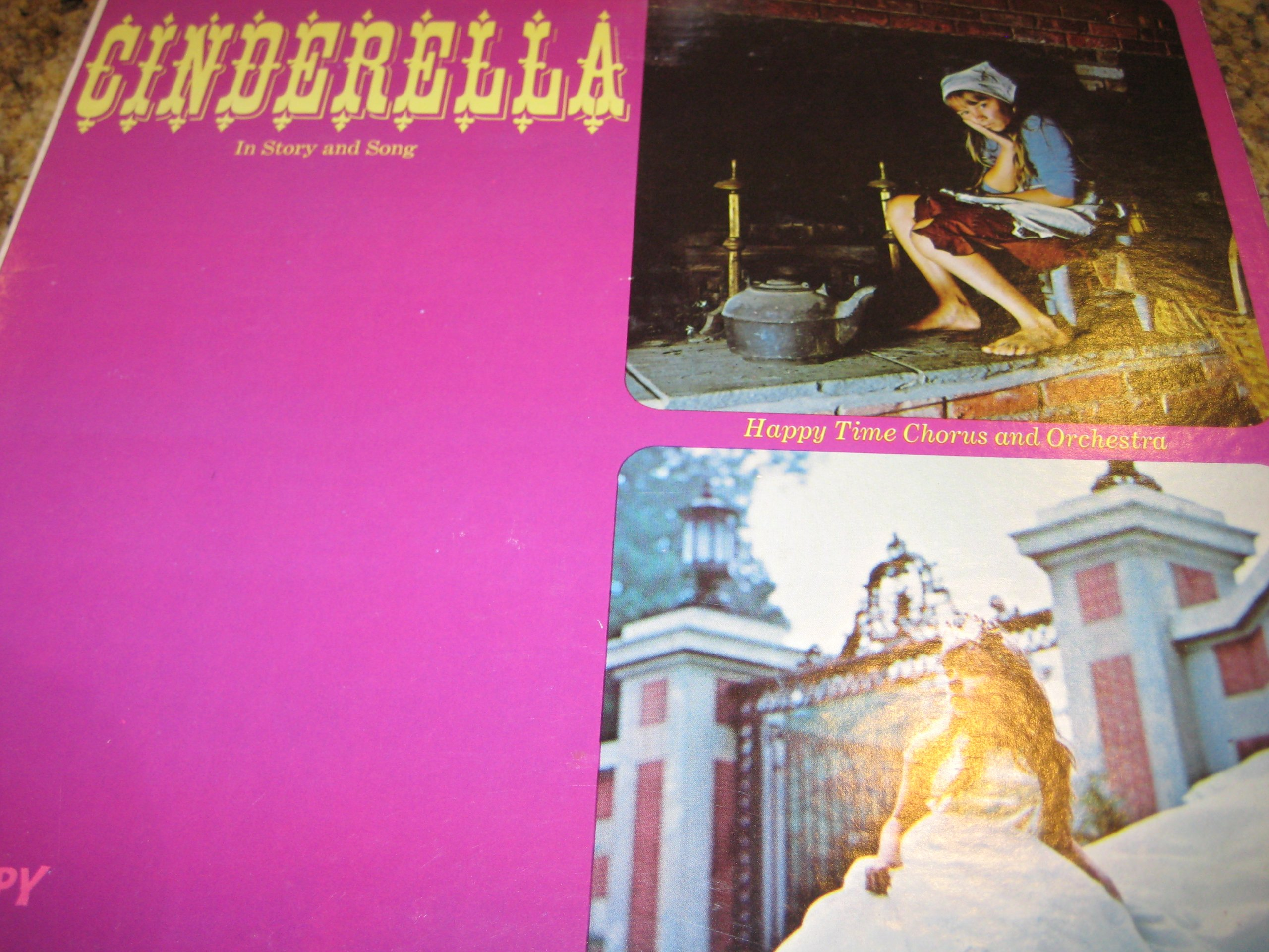 Cinderella in Story and Song [Happy Time Records HT-1053]