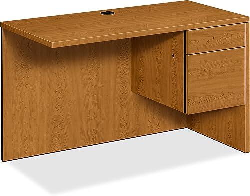 HON Right Return Left Pedestal Desk