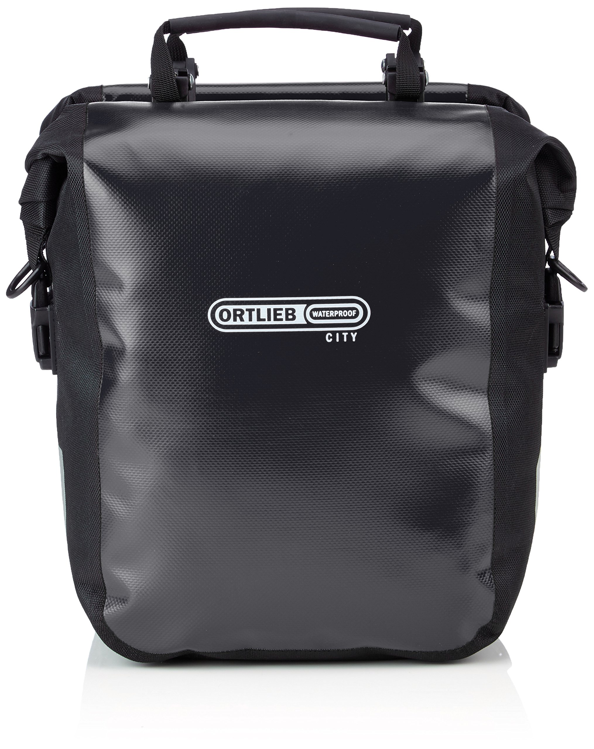 Ortlieb Front-Roller City Front Pannier: Black