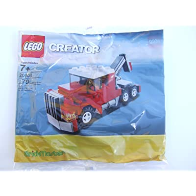 Lego Creator Exclusive Set #20008 Tow Truck: Toys & Games