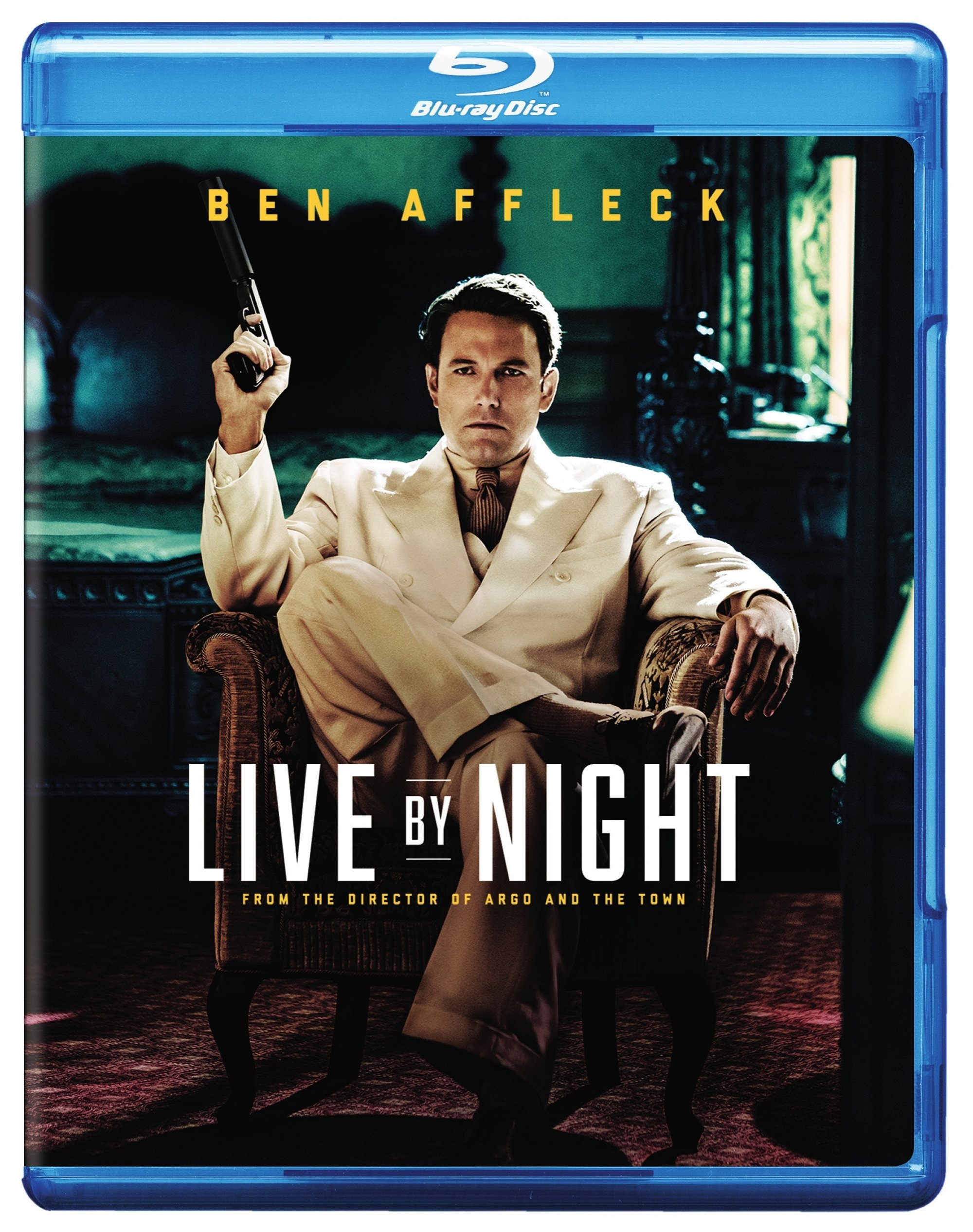 Blu-ray : Live by Night (Ultraviolet Digital Copy, Digitally Mastered in HD)