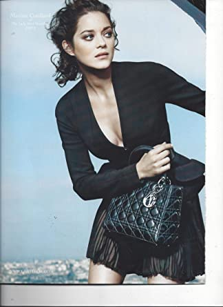 0b3475a2af64 Magazine Fashion PAPER AD With Marion Cotillard For Dior Black Quilt Bags  at Amazon s Entertainment Collectibles Store