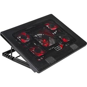 Mars Gaming MNBC2 - Base de refrigeración gaming para portátiles de hasta 17.35