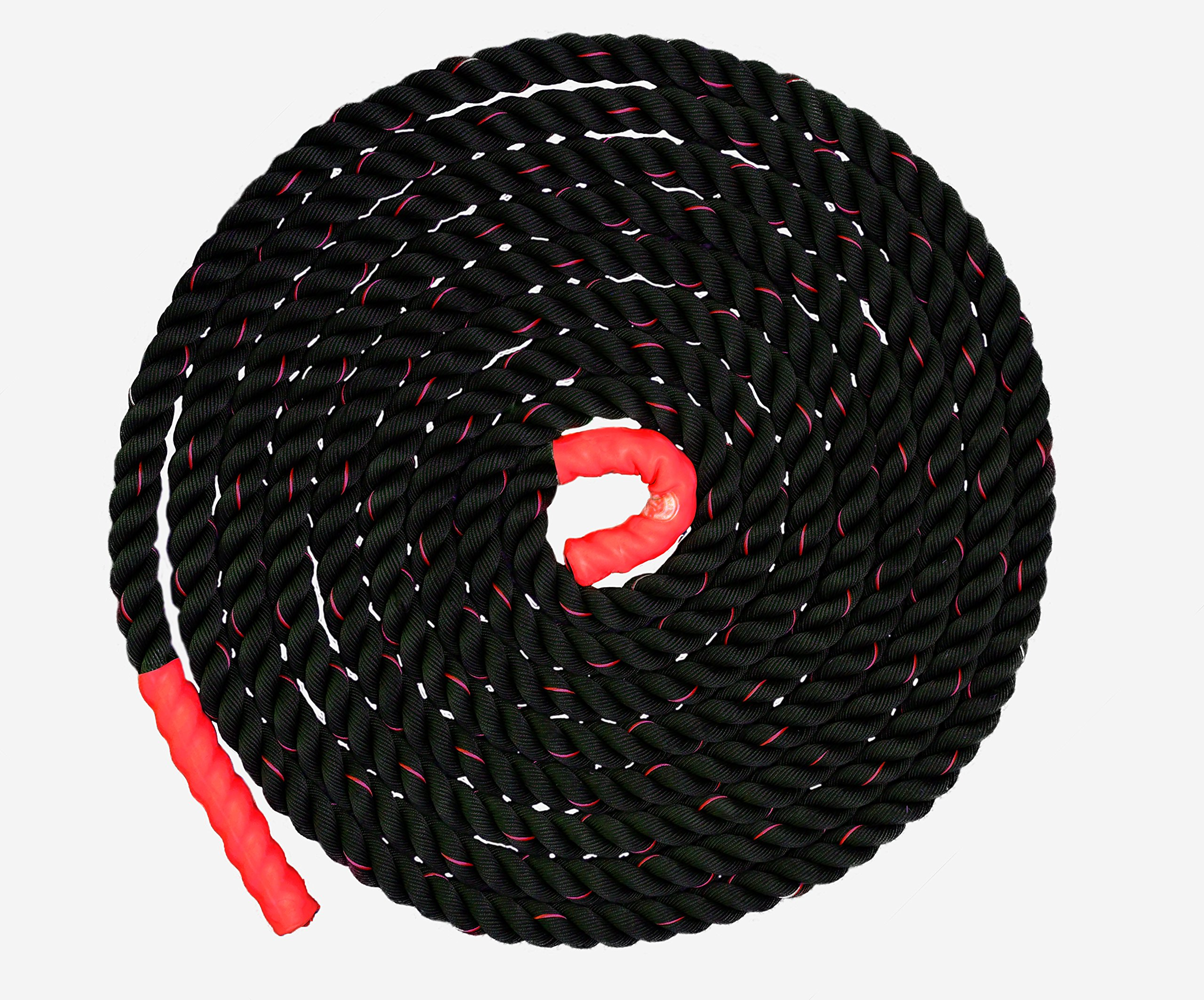 Battle Ropes Exercise Rope | Heavy Battle Rope for Crossfit Equipment | 40' x 1.5'' Gym Rope by Fitness Answered Training by Fitness Answered Training (Image #5)