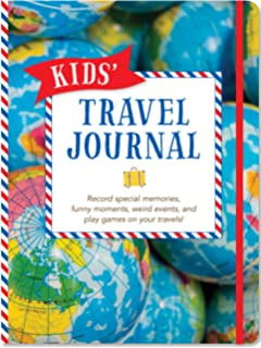 kids travel journal interactive diary notebook