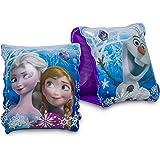 Frozen Schwimmflügel ab 3 Jahre, Schwimmhilfe für Kinder mit Frozen Motiv, Aufblasbare Flügel zum Schwimmen