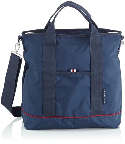37465dba8c8 Tommy Hilfiger Canvas & Beach Tote Bags Newport WW50530 Blue: Amazon.co.uk:  Luggage