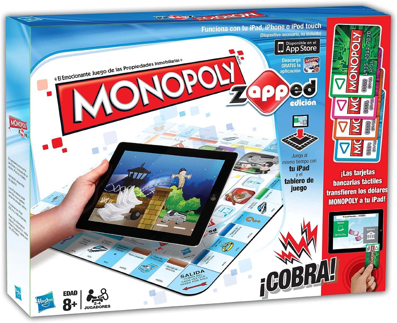 Hasbro Juegos en Familia Monopoly Zapped 38115105: Amazon.es: Juguetes y juegos