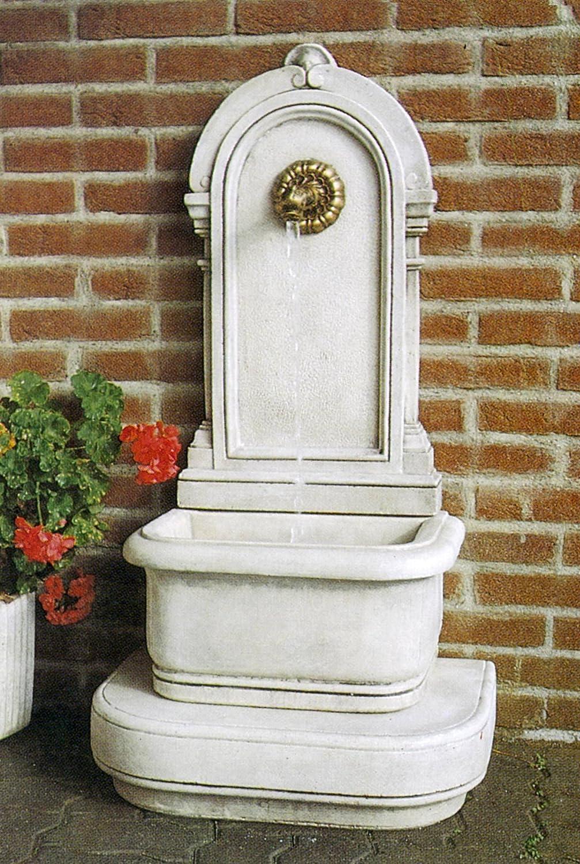 Wandbrunnen ANTICA H 112 Farbe terracotta