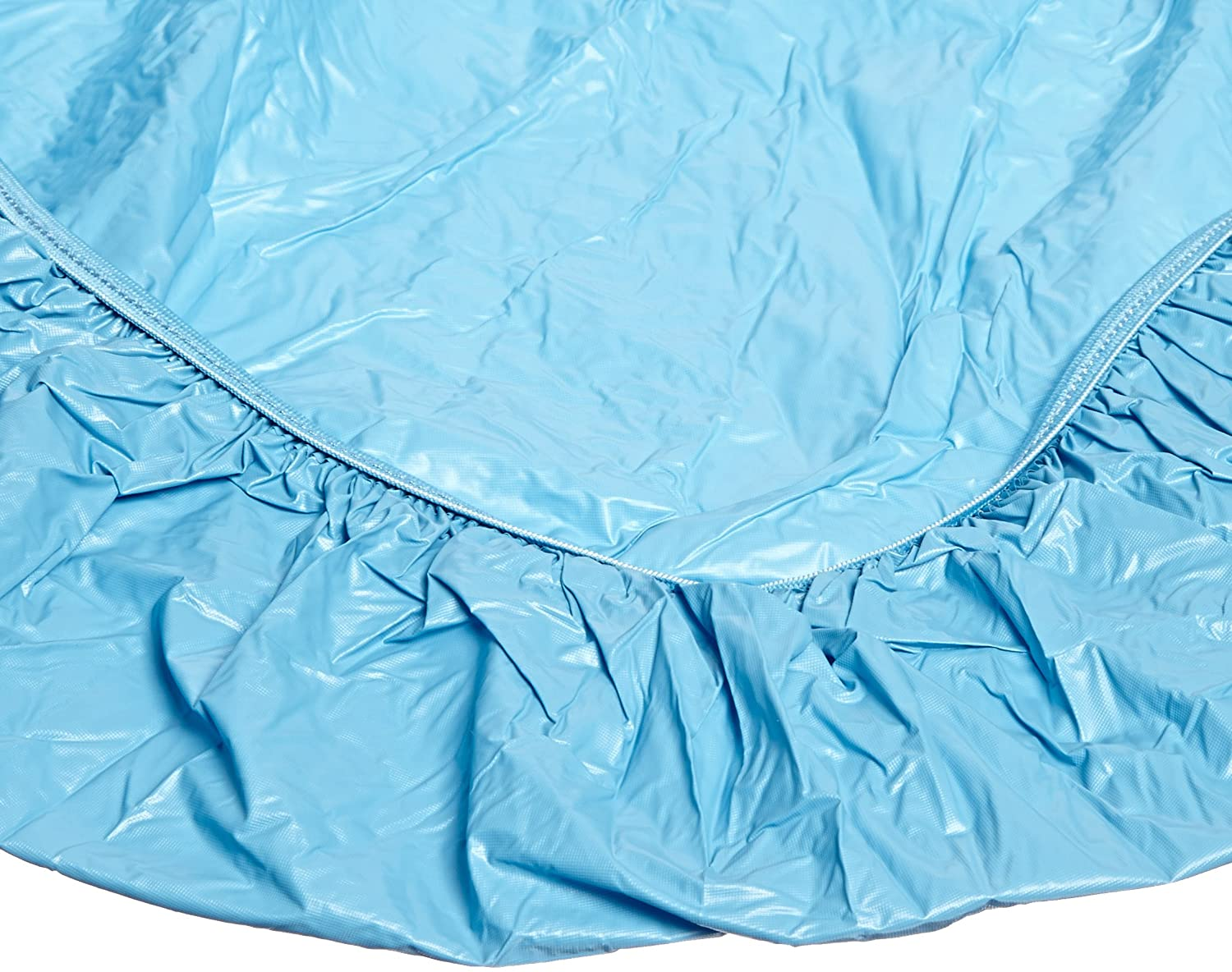 1 full case of 100 Kwik-Cover 60-O 60 Round Kwik-Cover Orange Fitted Table Cover