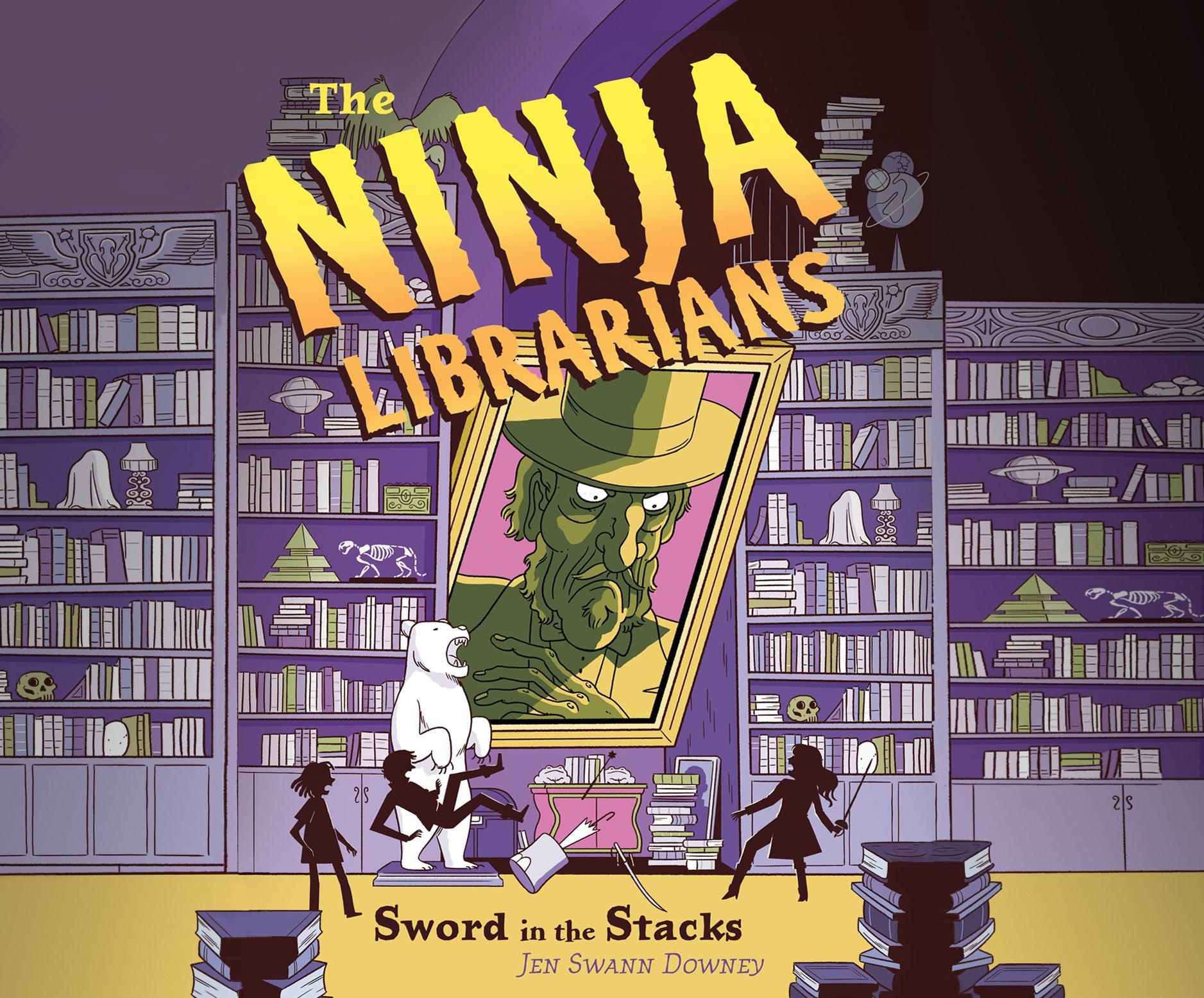 The Ninja Librarians: Sword in the Stacks: Amazon.es: Jen ...