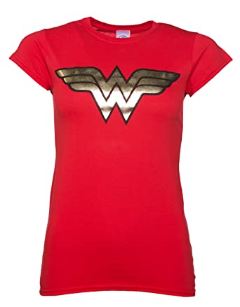 Official Wonder Woman Foil Women S T Shirt