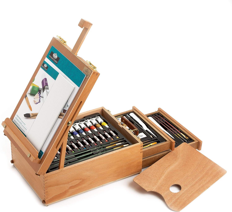 Royal & Langnickel REA6150 - Set de artista caballete para todos los usos, 150 piezas: Amazon.es: Oficina y papelería
