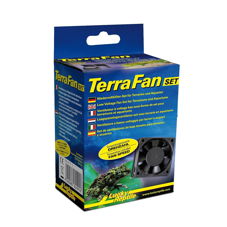 Lucky Reptile TF de 1Terra Fan Ventilador Set para terrarios TF-1