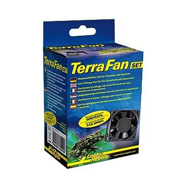 Lucky Reptile TF de 1 Terra Fan Ventilador Set para terrarios: Amazon.es: Productos para mascotas