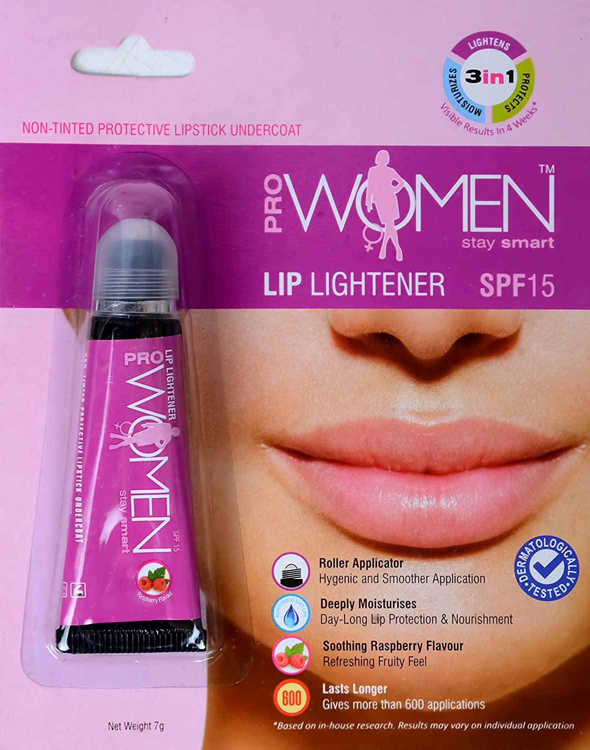 Prowomen Lip Lightner And Nontinted Lipstick Undercoat