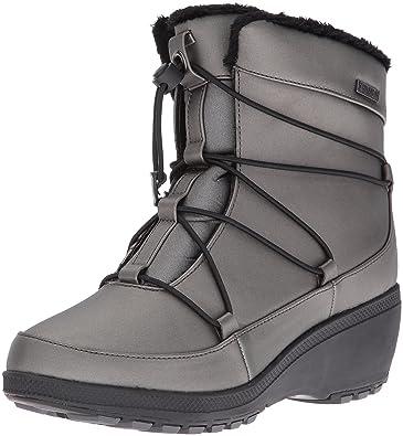 551cf93ea49 Khombu Women s Ashlyn Snow Boot Pewter 6 ...