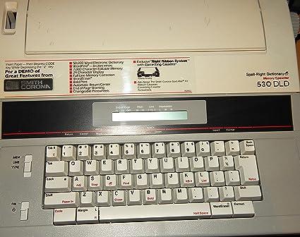Smith Corona eléctrico máquina de escribir modelo 530 DLD – Pantalla LCD Módulo de hechizo derecho
