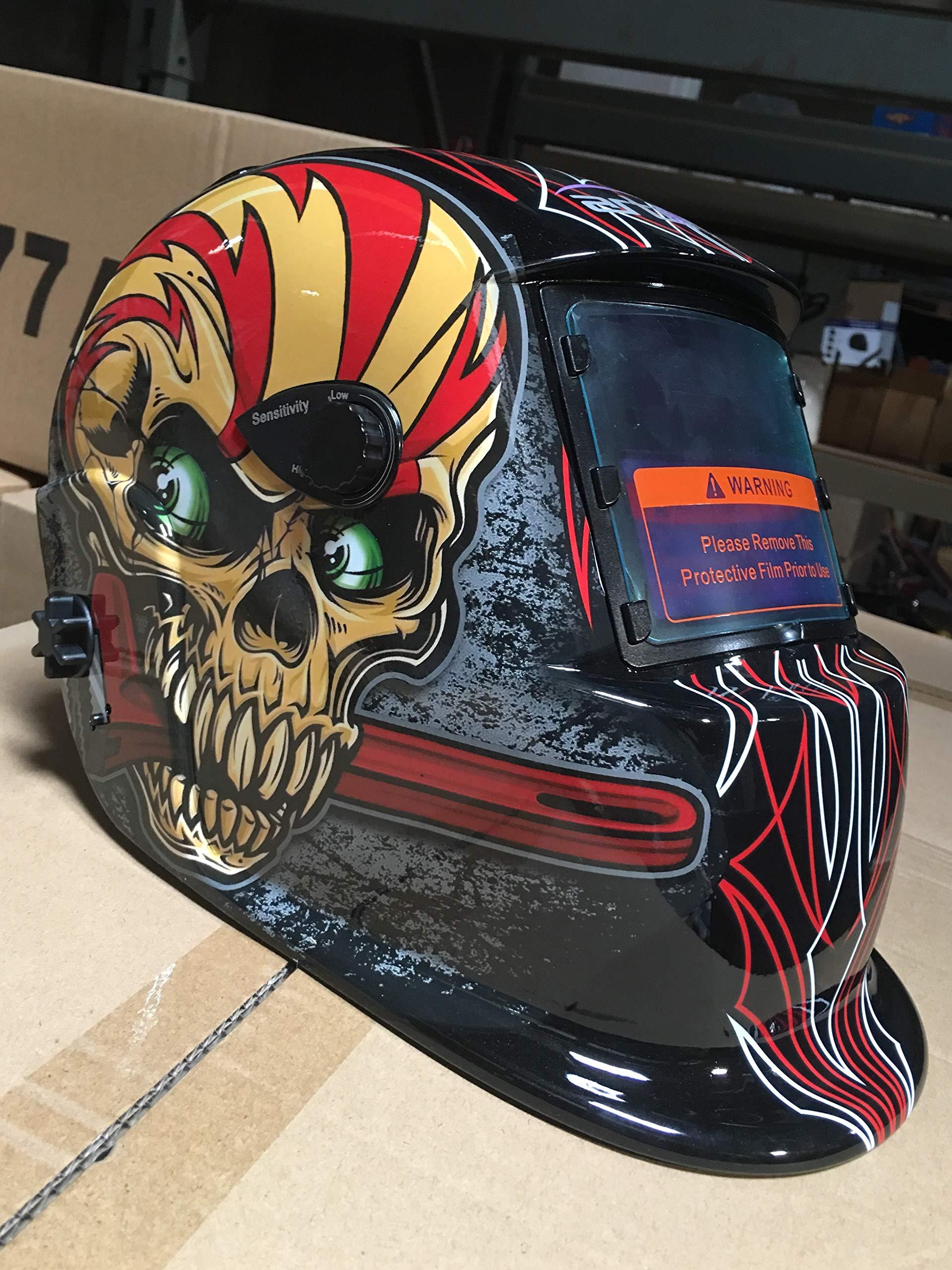 USA seller ACF Auto Darkening Solar Welding Helmet With Grinding Function
