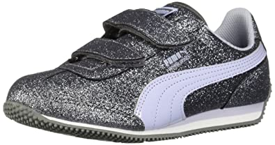 a81f14512fb PUMA Girls  Whirlwind Glitz V  Amazon.com.au  Fashion