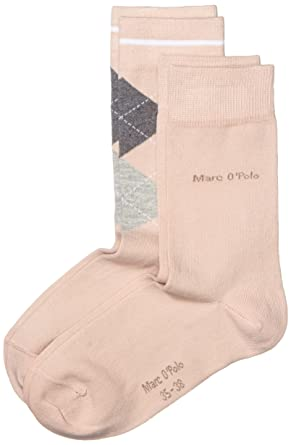 buy popular 0b357 e6e83 Marc O'Polo Damen Socken Söckchen Rouen, Gr. 39/42, Rosa ...
