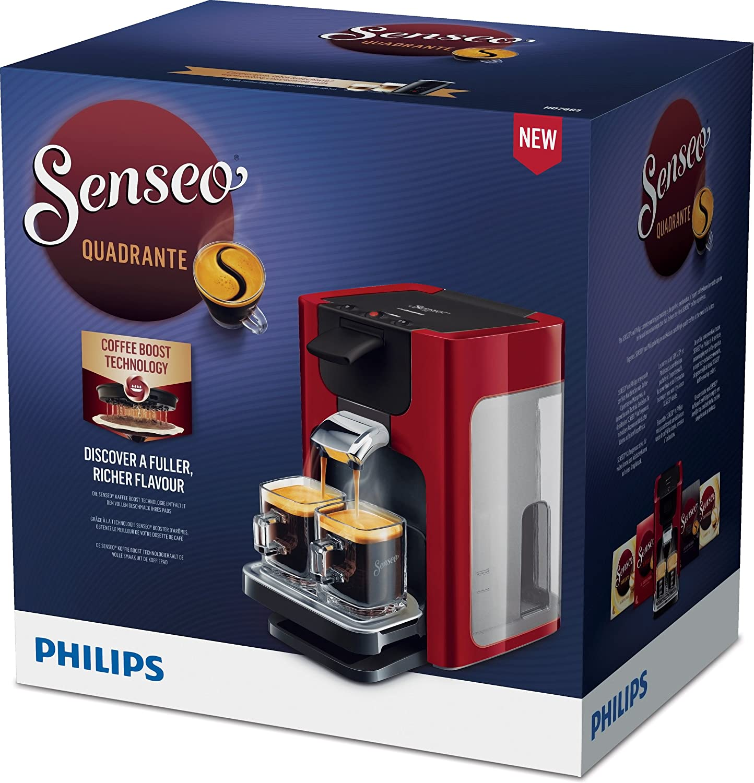 Senseo Quadrante HD7865/80 - Cafetera (Independiente, Máquina de ...