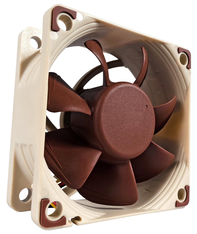 Noctua NF-A6x25 FLX, 3-Pin Premium Cooling Fan (60mm, Brown)