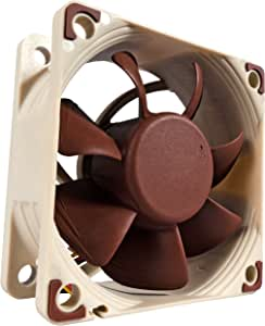 Noctua NF-A6x25 FLX, Premium Quiet Fan, 3-Pin (60mm, Brown)
