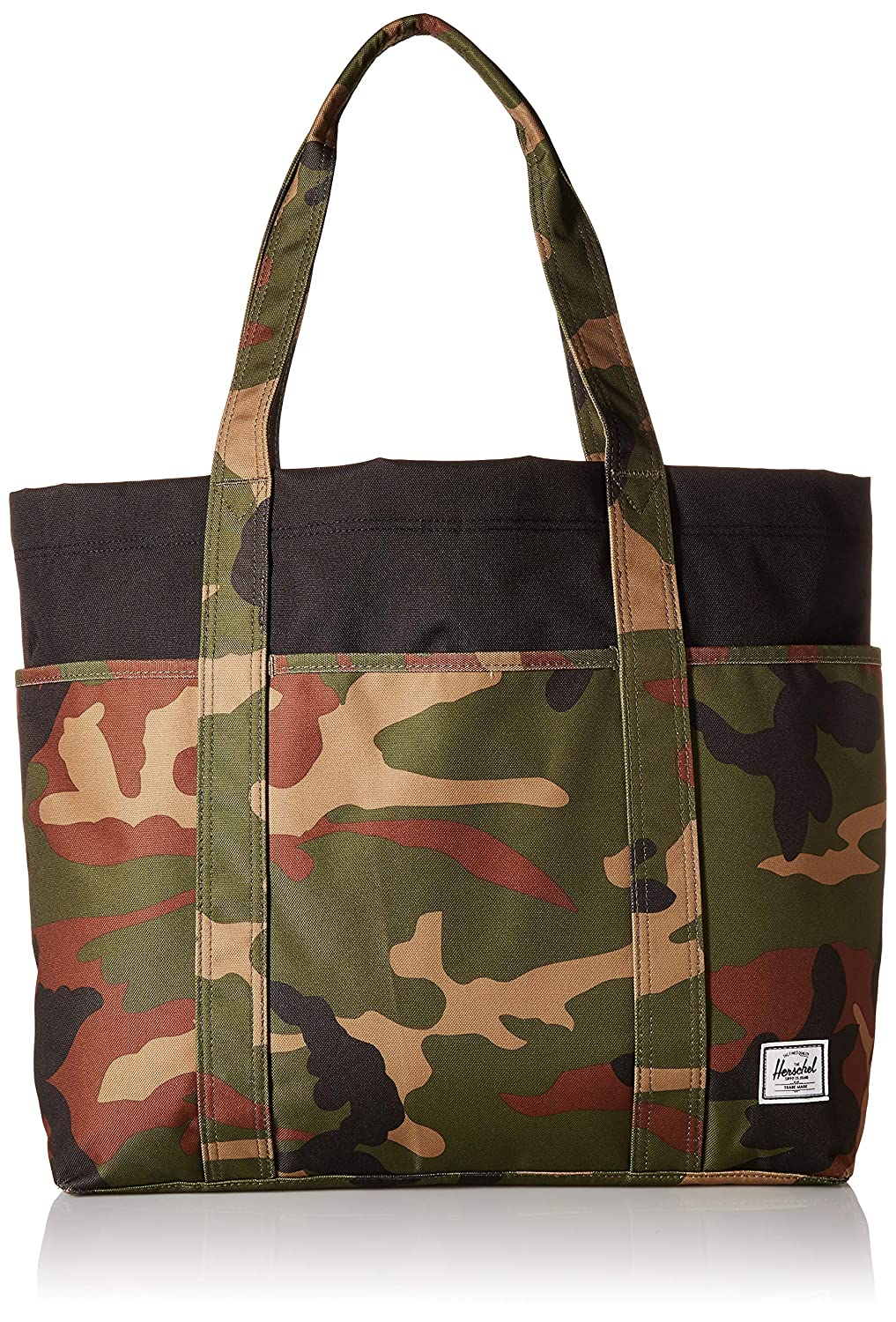 Amazon.com  Herschel Terrace Sling Tote Woodland Camo Black One Size dd8d1cfd20f4e