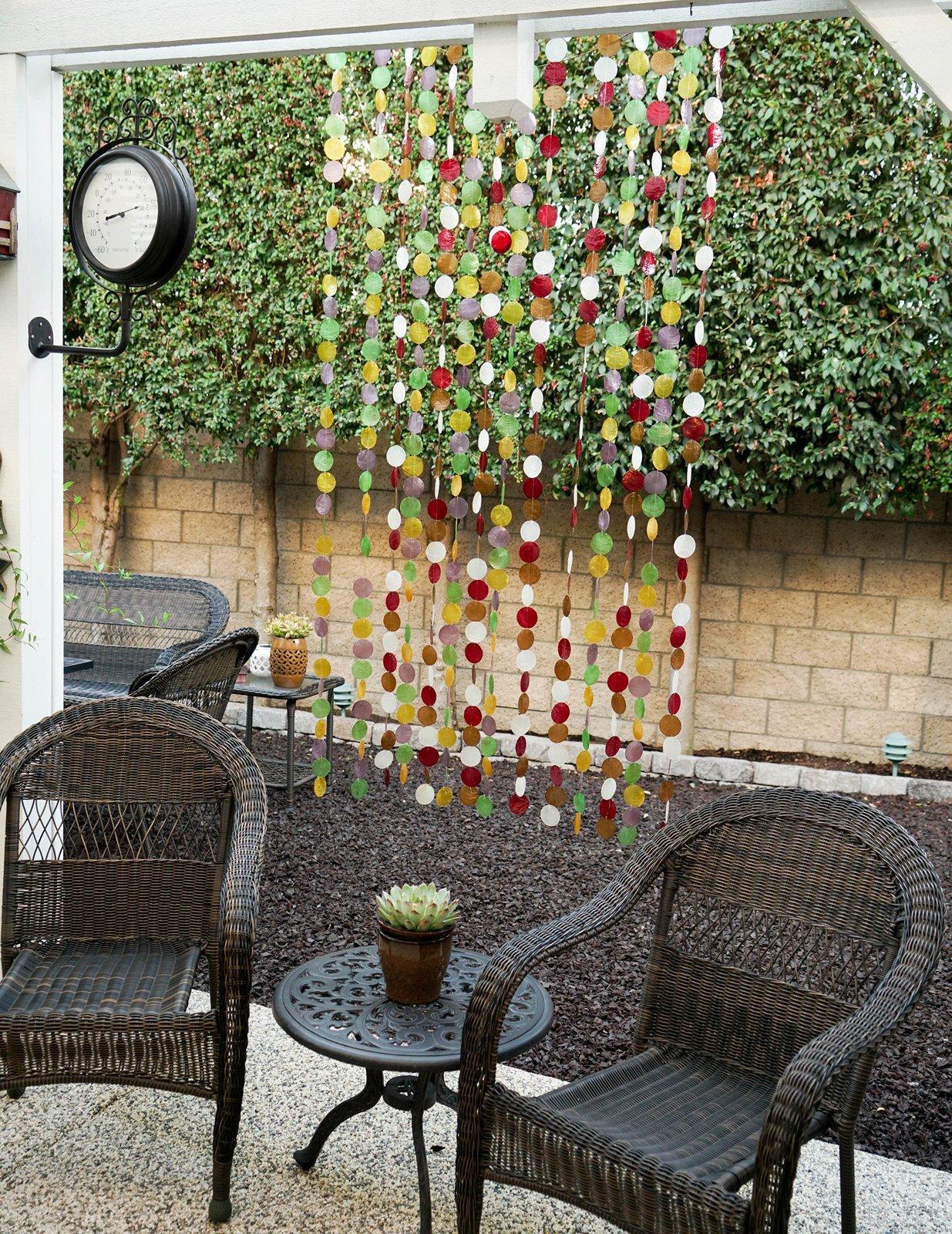 Decorative Capiz Shell Curtain