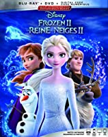 Frozen 2 [Blu-ray + DVD + Digital] (Bilingual)