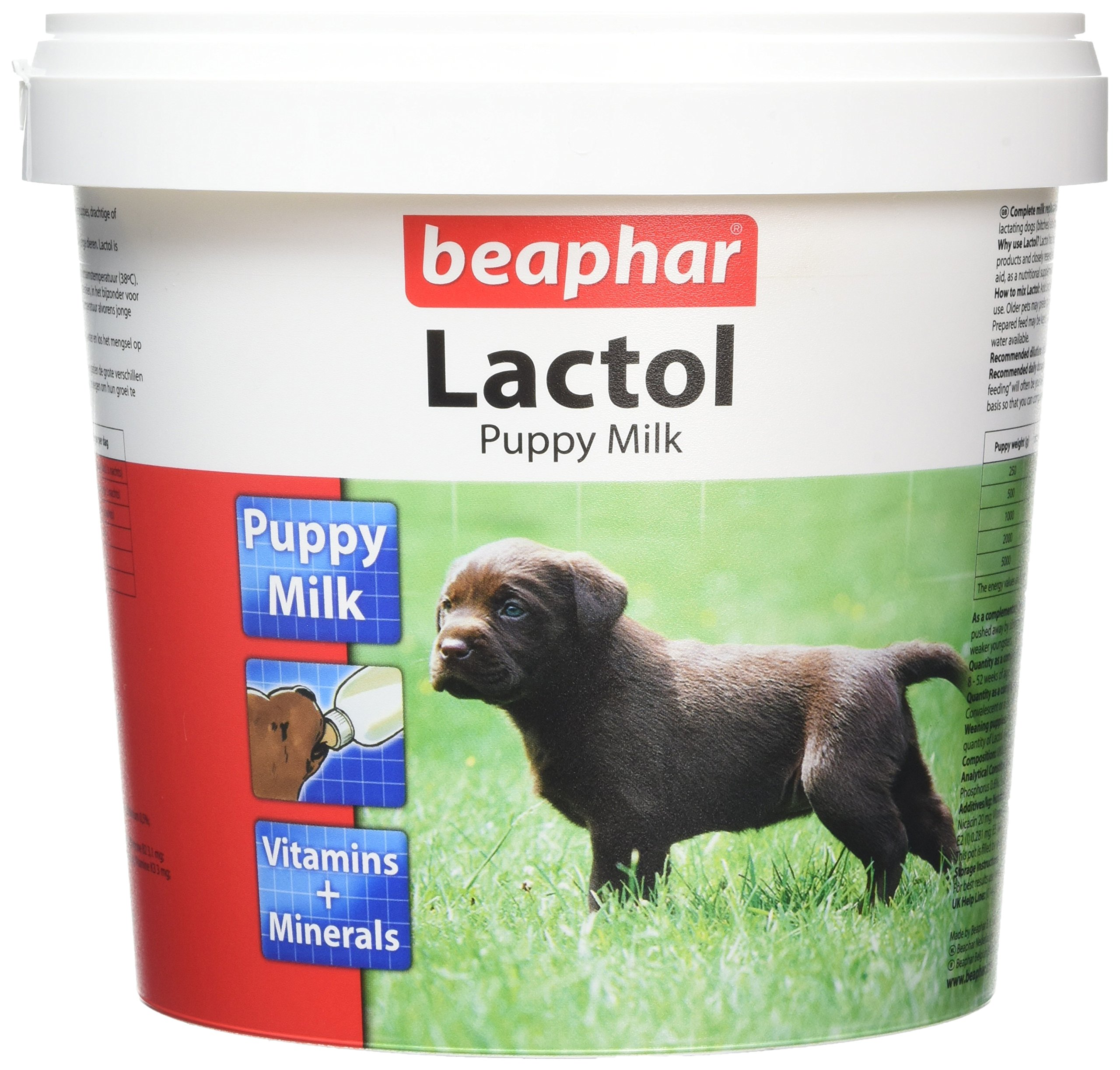 Beaphar Lactol Milk Supplement For Puppies 1kg by Beaphar