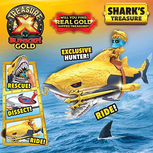 Treasure X Sunken Gold: Shark's Treasure