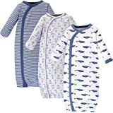 Touched by Nature Baby Girls' Organic Cotton Kimono Gowns