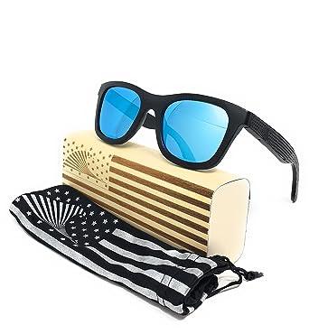 81125c992e3 Amazon.com  Patriot Shades Wayfarer Sunglasses by LOUDMOUTH PATRIOT ...